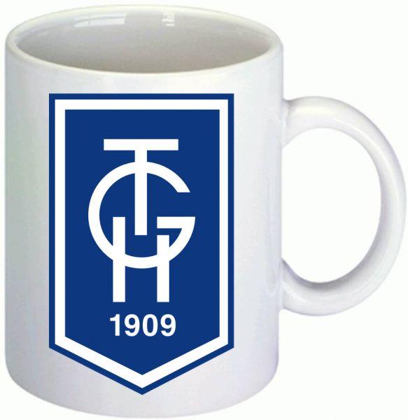 TGH Logo-Tasse mit Wunschnamen bedrucken